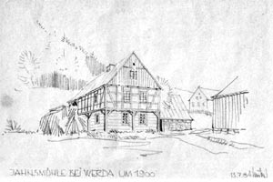 Sägewerk Schauer in Werda